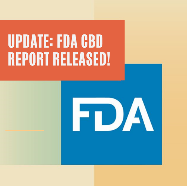 FDA CBD Report Finally Arrives